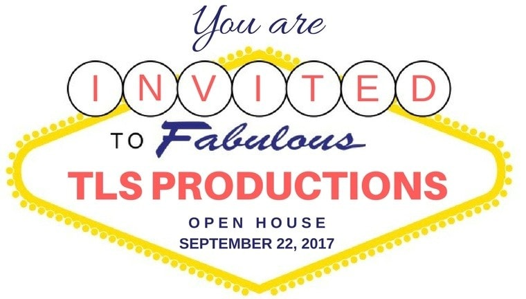 TLS Productions Open House Banner