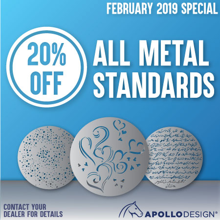 20% Off Metal Standards PO Must Be Dated February 2019