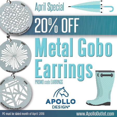 20% Off Gobo Earrings