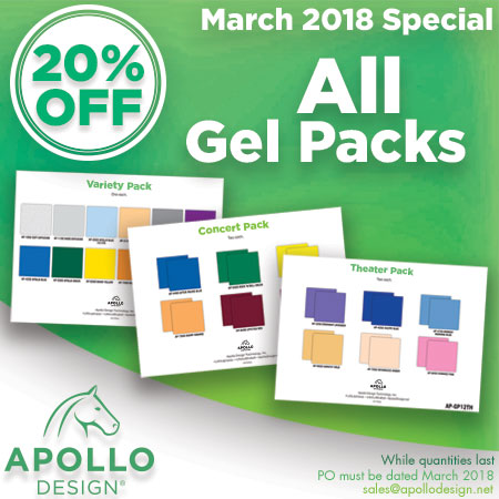 March Special Gel Packs 20% Off