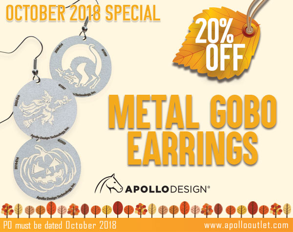 20% Off All Gobo Earrings In October Apollo Outlet
