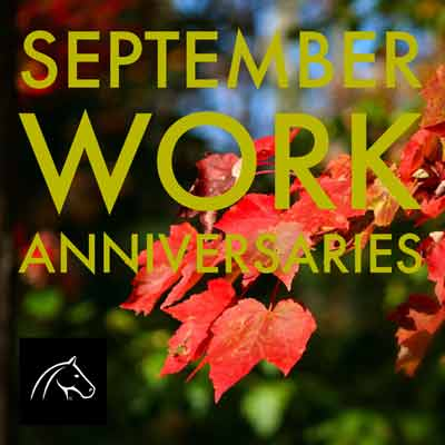 September Work Anniversaries Graphic