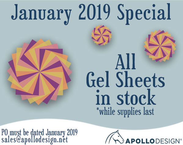All Gel Sheets on Sale In January