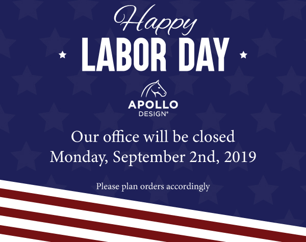 Happy Labor Day Our office will be closed Monday, September 2.