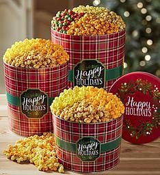 December Contest  Popcorn Cans