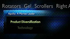 Rotators Gel Scrollers/ Apollo: A Market Leader