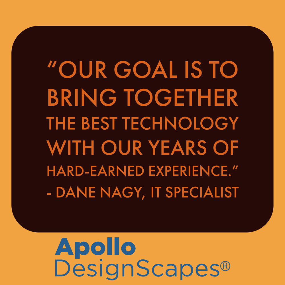 Our Goal Is To Bring Together The Best Technology With Our Years of Hard Earned Experience, Dane Nagy Web Developer