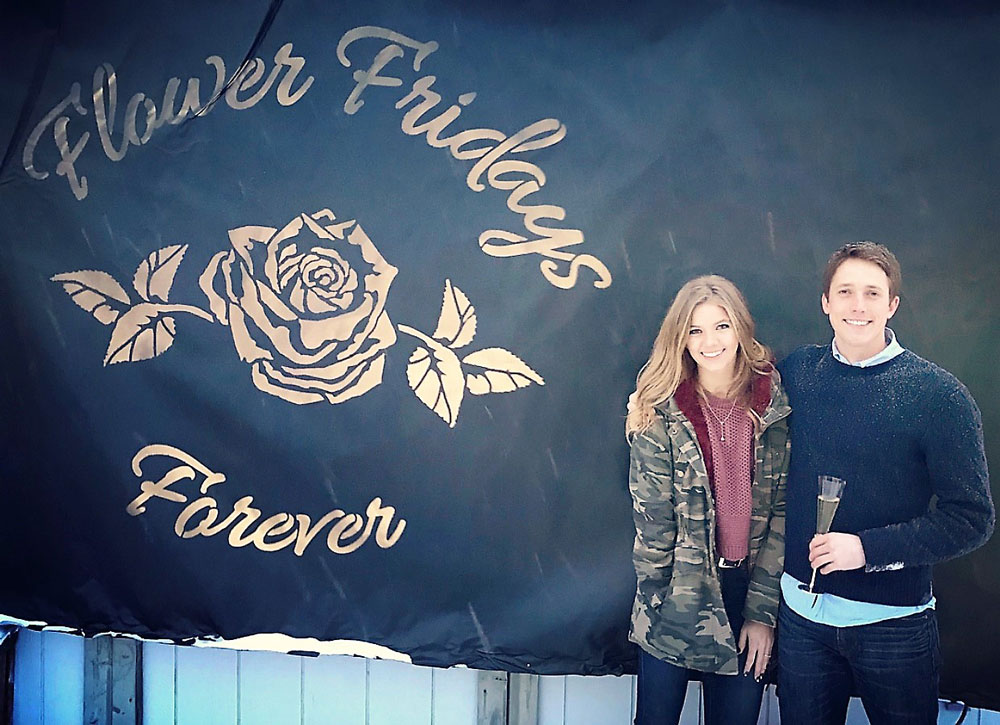 Alexis Linnemeier and Jr after, Flower Fridays Forever