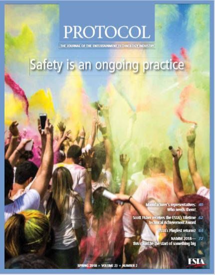 Cover of Protocal Magazine Issue Spring 2018 - Volume 23 Summer 2