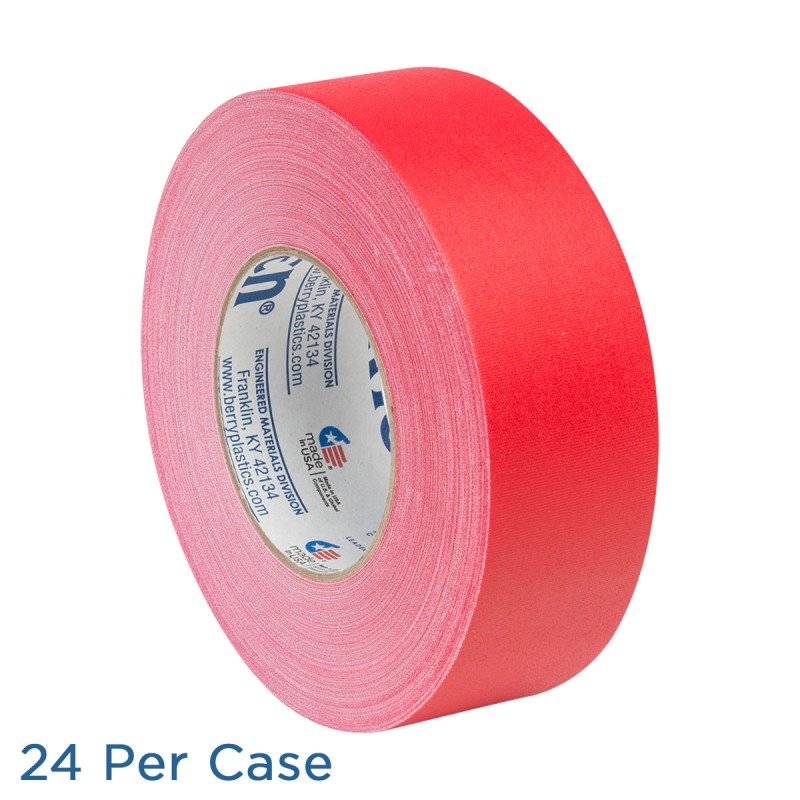 "Gaffer Tape - 2"" - Red - 24 per Case"