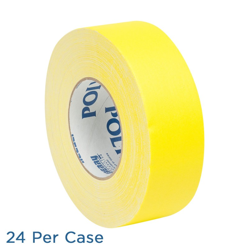 "Gaffer Tape - 2"" - Yellow - 24 per Case"