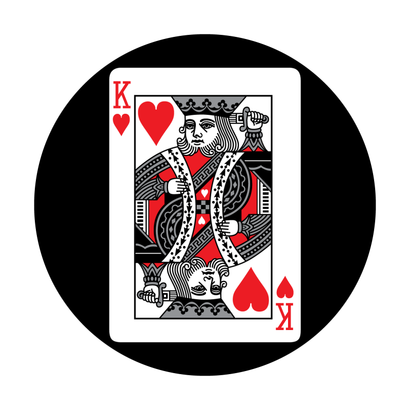 Red Card - King of Hearts