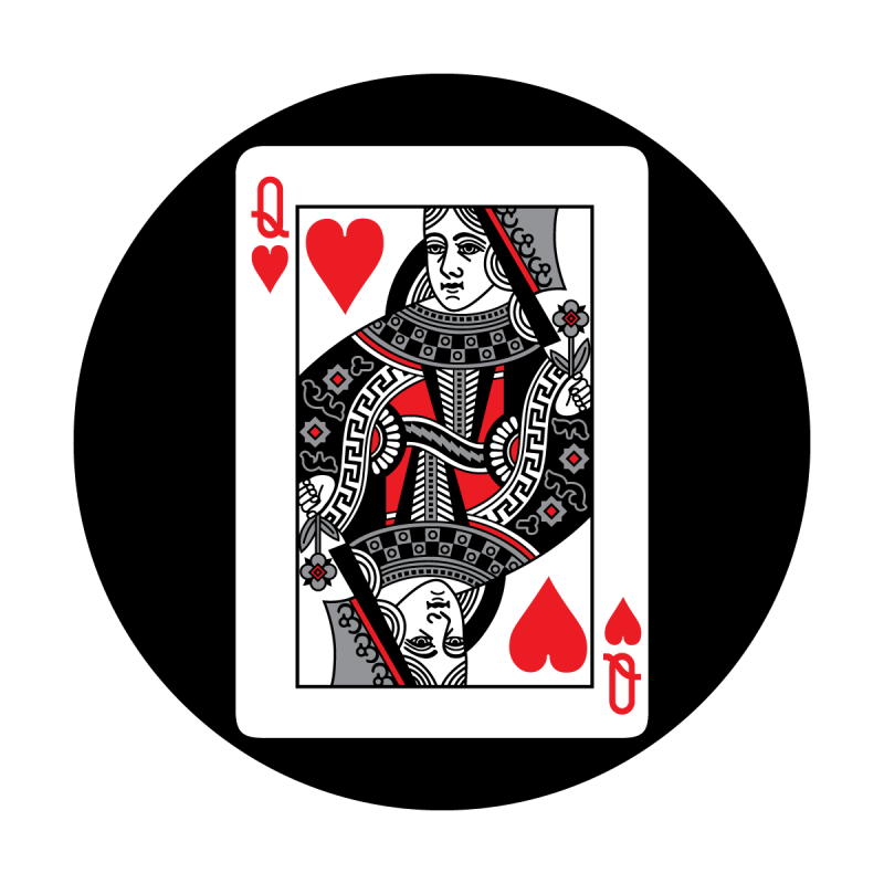 Red Card - Queen of Hearts