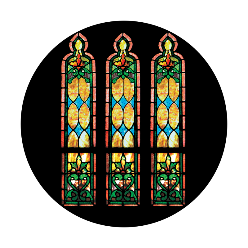 Stained Glass Windows Morning