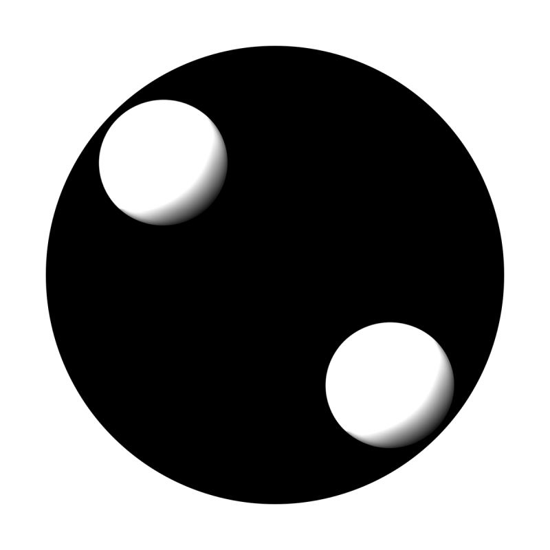 Two Orbs