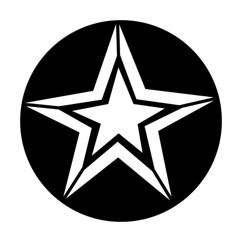 Star with Outline