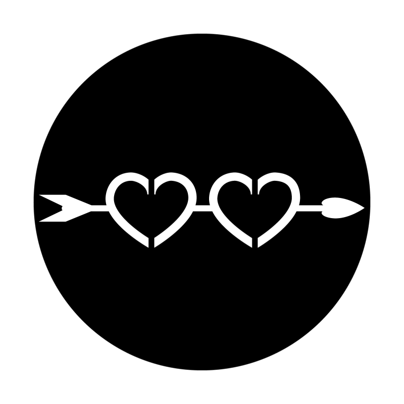 Double Hearts Divider