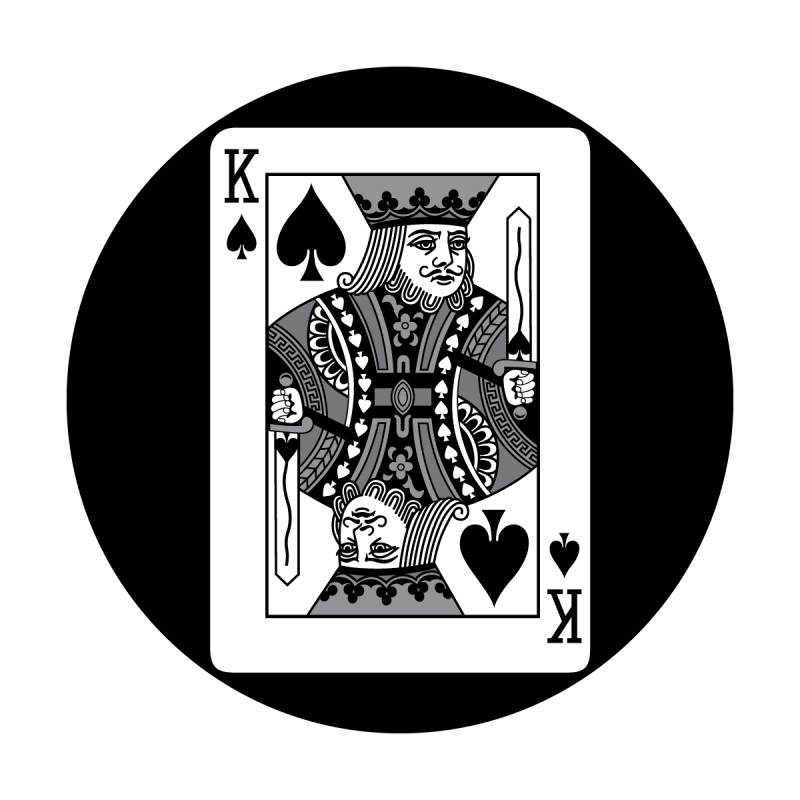 Detailed Card - King of Spades