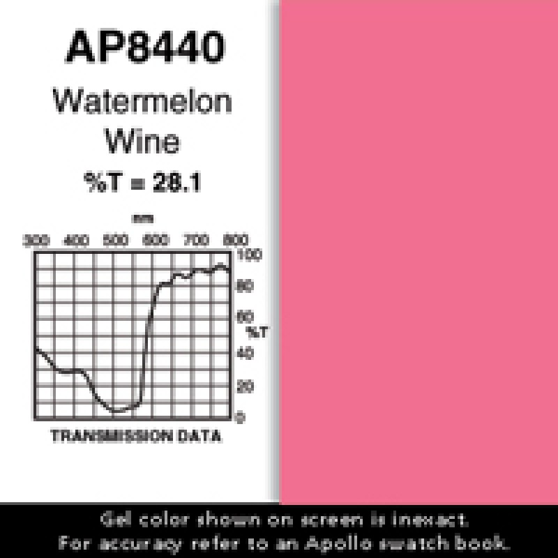 AP8440 - Watermelon Wine: 25' Roll