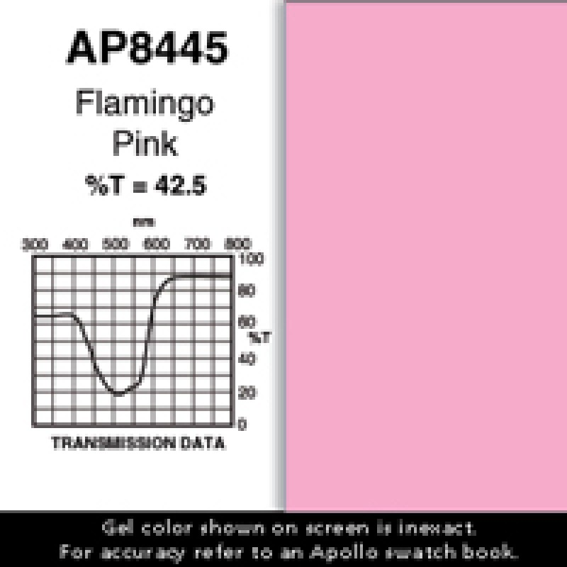AP8445 - Flamingo Pink: 25' Roll