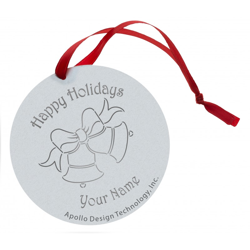Customized Gobo Ornaments -  Holiday Bells