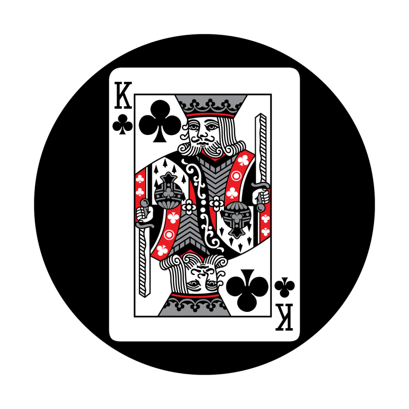 Red Card - King of Clubs