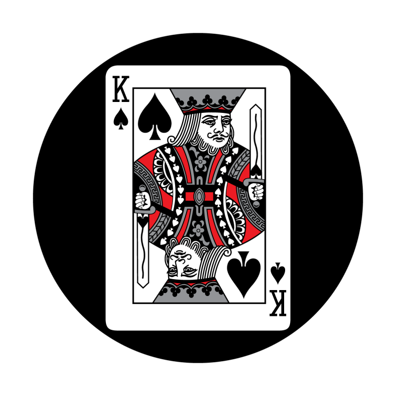Red Card - King of Spades