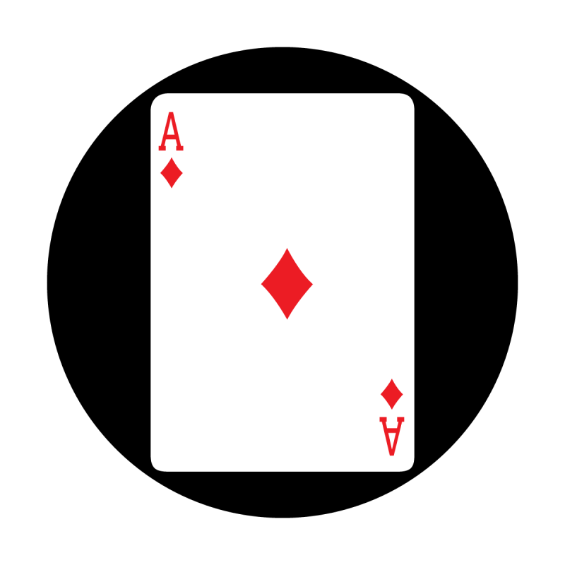 Red Card - Ace of Diamonds