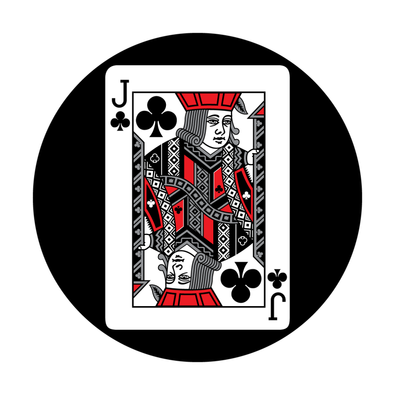 Red Card - Jack of Clubs