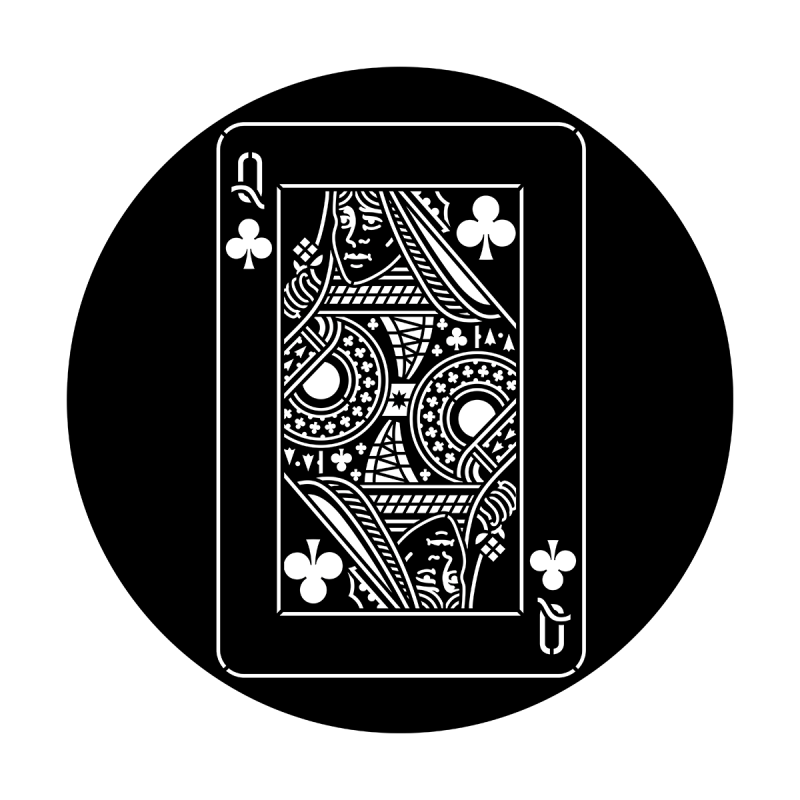 Cards - Queen of Clubs