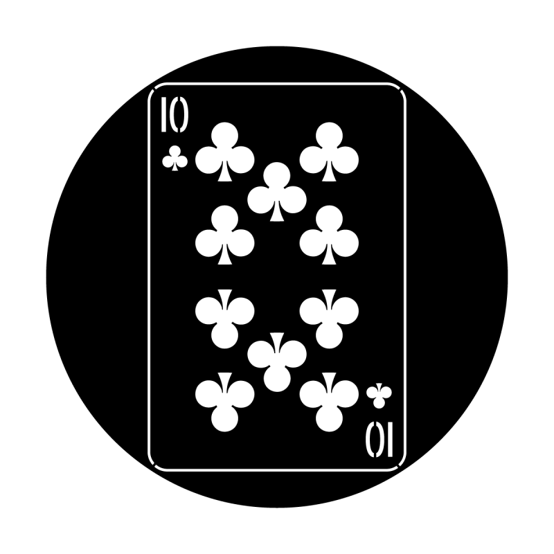 Cards - Ten of Clubs