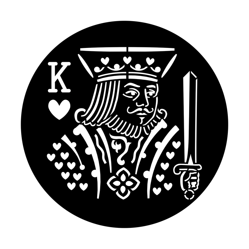 Poker Face - King of Hearts
