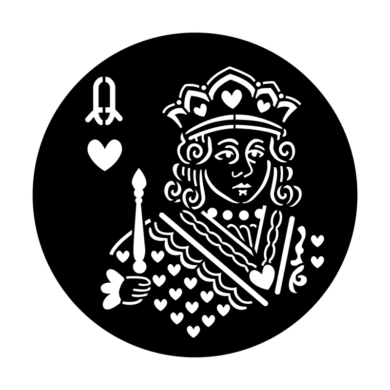 Poker Face - Queen of Hearts