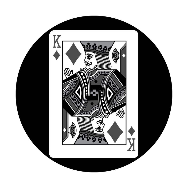 Detailed Card - King of Diamonds