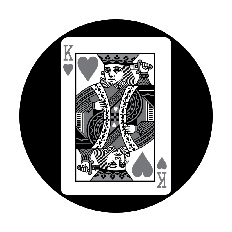 Detailed Card - King of Hearts