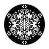Snowflake Heavy Lace