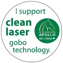 I Support Clean Laser Gobo Technology